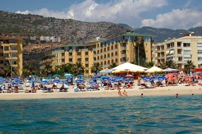Hotel Kleopatra Dreams Beach, Alanya, Turecko